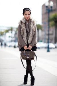 Leopard Furry Vest2