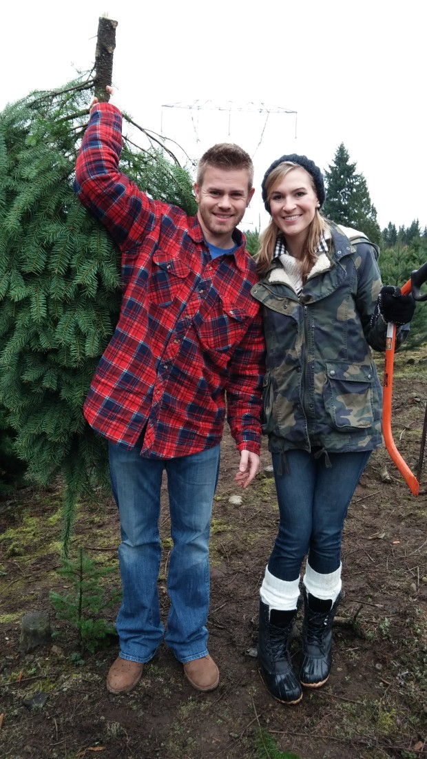 Torie and Tristan to Tree Farm!