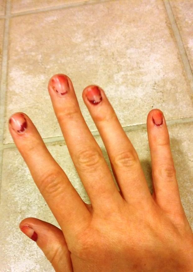 DIY Manicure 4 - Torie & Tristan