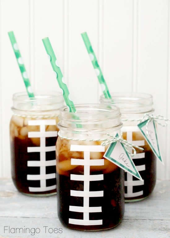 Football-Mason-Jars