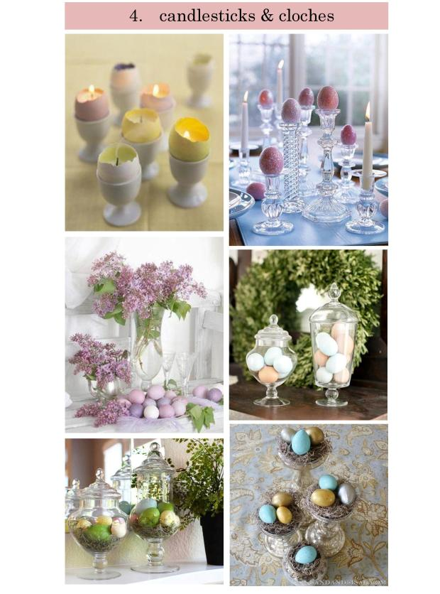 Torie and Tristan - 4 Spring Decor Trends - TREND 4- Candlesticks and Cloches