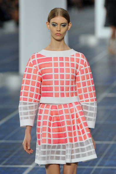 Chanel: Runway - Paris Fashion Week Womenswear Spring / Summer 2013