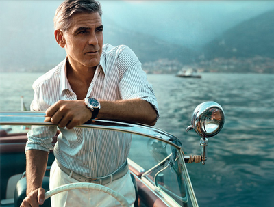 2. george clooney sailing habituallychic