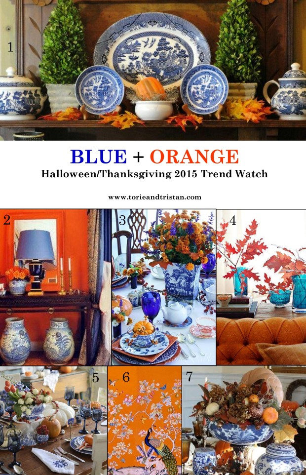 Blue and Orange Trend Watch via Torie and Tristan