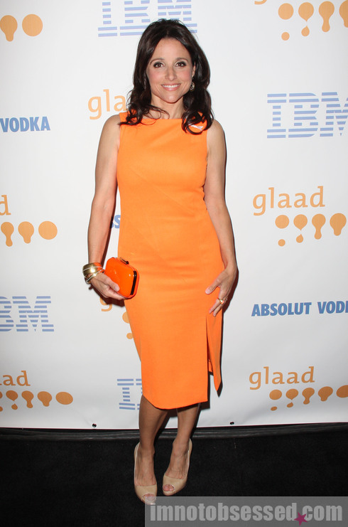Julia Louis-Dreyfus The 20th Annual GLAAD Media Awards held at the Nokia Theater - Arrivals Los Angeles, California - 18.04.09 Mandatory Credit: FayesVision/WENN.com